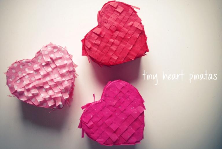 heart pinatas